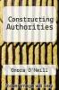 cover of Constructing Authorities