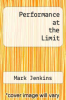 cover of Performance at the Limit (3rd edition)