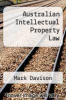 cover of Australian Intellectual Property Law (3rd edition)