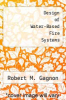 cover of Design of Water-Based Fire Systems
