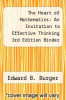 cover of The Heart of Mathematics: An Invitation to Effective Thinking 3rd Edition Binder Ready Version with Binder Ready Survey Flyer Set (3rd edition)