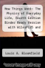 cover of How Things Work: The Physics of Everyday Life, Fourth Edition Binder Ready Version with WileyPLUS and Flyer Set (4th edition)
