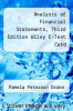 cover of Analysis of Financial Statements, Third Edition Wiley E-Text Card (3rd edition)