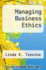 cover of Managing Business Ethics (7th edition)