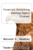 cover of Financial Accounting - Working Papers (Custom) (11th edition)