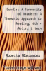 cover of Bundle: A Community of Readers: A Thematic Approach to Reading, 6th + Aplia, 1 term Printed Access Card (6th edition)