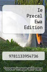Cover of Ie Precal Ewa Edition  (ISBN 978-1133954736)