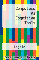 Computers As Cognitive Tools A digital copy of  Computers As Cognitive Tools  by Lajoie. Download is immediately available upon purchase!