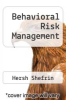 cover of Behavioral Risk Management