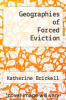 cover of Geographies of Forced Eviction