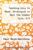 cover of Teaching ELLs to Read: Strategies to Meet the Common Core, K-5