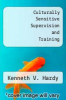 cover of Culturally Sensitive Supervision and Training