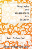 cover of Geography and Geographers 6th Edition (6th edition)
