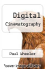 cover of Digital Cinematography