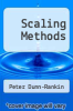 cover of Scaling Methods (2nd edition)