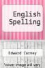 cover of English Spelling