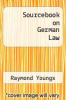 cover of Sourcebook on German Law