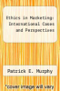 cover of Ethics in Marketing: International Cases and Perspectives (2nd edition)
