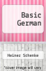 cover of Basic German (2nd edition)