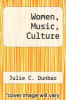 cover of Women, Music, Culture (2nd edition)