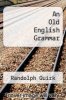 cover of An Old English Grammar (2nd edition)
