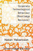 cover of Corporate Technological Behaviour (Routledge Revivals)