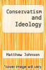cover of Conservatism and Ideology