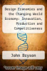 cover of Design Economies and the Changing World Economy: Innovation, Production and Competitiveness