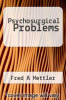 cover of Psychosurgical Problems