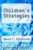 cover of Children`s Strategies
