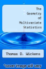 cover of The Geometry of Multivariate Statistics