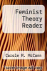 cover of Feminist Theory Reader (4th edition)