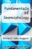 cover of Fundamentals of Geomorphology (4th edition)