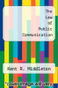 cover of The Law of Public Communication (9th edition)