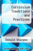 cover of Curriculum Traditions and Practices