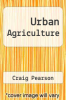 cover of Urban Agriculture