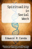 cover of Spirituality in Social Work