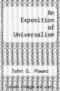 cover of An Exposition of Universalism