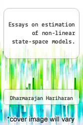 Cover of Essays on estimation of non-linear state-space models.  (ISBN 978-1243560322)