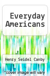 Cover of Everyday Americans  (ISBN 978-1246442922)