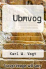 cover of Ubmvog