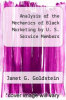 cover of Analysis of the Mechanics of Black Marketing by U. S. Service Members