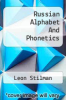 cover of Russian Alphabet And Phonetics