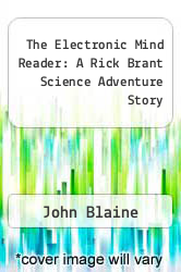 Cover of The Electronic Mind Reader: A Rick Brant Science Adventure Story  (ISBN 978-1258096922)
