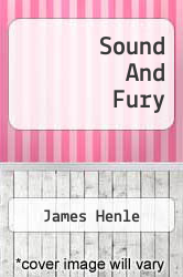 Cover of Sound And Fury  (ISBN 978-1258277451)