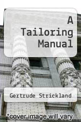Cover of A Tailoring Manual  (ISBN 978-1258433673)