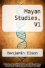 cover of Mayan Studies, V1