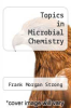 cover of Topics in Microbial Chemistry