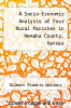 cover of A Socio-Economic Analysis of Four Rural Parishes in Nemaha County, Kansas