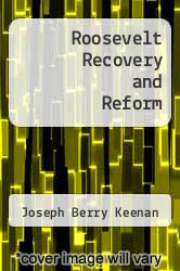 Cover of Roosevelt Recovery and Reform  (ISBN 978-1258598600)